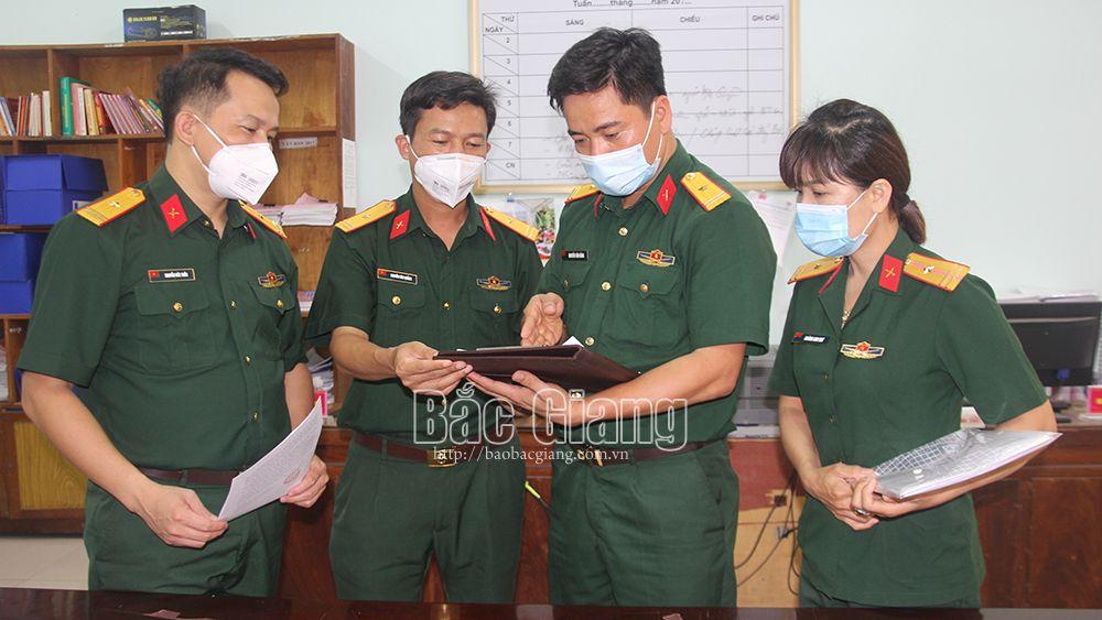 Bộ CHQS tỉnh Bắc Giang: Phối hợp ngăn chặn thông tin xấu độc, nâng cao ý thức người dân